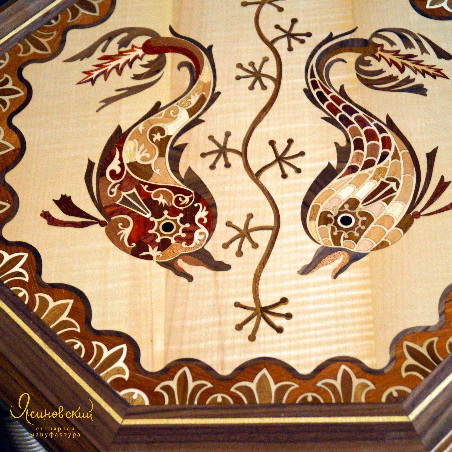 маркетри в стиле флорентийской мозаики
